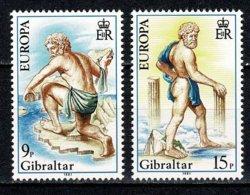 Gibraltar 1981 EUROPA Yv 418/19**,   MNH - Gibraltar