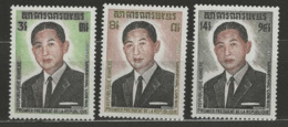 Khmère YT 335-337 XX / MNH - Cambodge