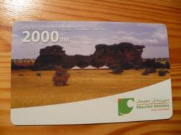 Prepaid Phonecard Mauritania - Mauritanie