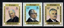 Gibraltar 1980 EUROPA Yv 407/09**,   MNH - Gibraltar