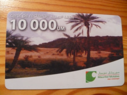 Prepaid Phonecard Mauritania - Mauritanië