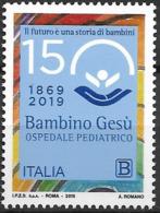 2019 Italien Mi. 4095 **MNH   150 Jahre Kinderkrankenhaus Bambino Gesù, Rom. - 6. 1946-.. República