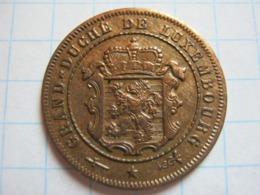 2½ Centimes 1908 - Luxemburgo