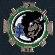 Pin's 126° Régiment D' Infanterie ? - 2° ET - Bison - Croix De Lorraine - Militaria