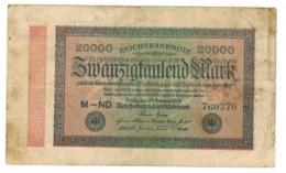 Germany 20 000 Mk. 1923, F. - 20000 Mark