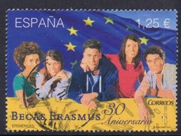 2017 - SPAGNA / SPAIN - TRENTENNALE DI ERASMUS / 30TH YEAR OF ERASMUS. USATO / USED. - 2011-... Usati
