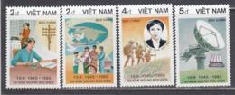 Vietnam 1986 - 40e Ann. Des Postes Vietnamiennes, Mi-Nr. 1699/702, MNH** - Vietnam