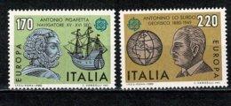 Italia 1980 EUROPA Yv. 1418/19**, Mi 1686/87**,  MNH - 6. 1946-.. República