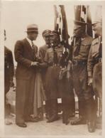 Max Schmeling 1935 Begrüsst Die Fahnenträger Beim Parteitag In Nürnberg - Berühmtheiten