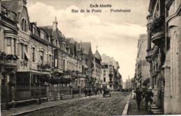Luxembourg, Esch-Alzette, Rue De La Poste, Poststrasse, Um 1910/20 - Esch-Alzette