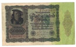 Germany 50000 Mk , 1922.  VF. - [ 3] 1918-1933 : Weimar Republic