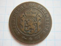 5 Centimes 1854 - Luxemburgo