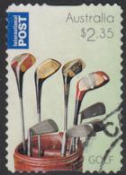 Australia 2011 Used Sc 3574 $2.35 Golf Clubs In Bag - Usados