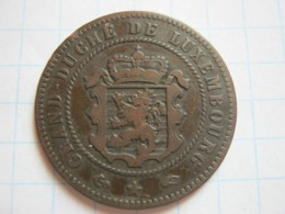 5 Centimes 1855 - Luxemburgo