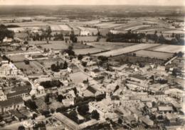 79. CPSM. ARGENTON L EGLISE.  Vue Aérienne Du Centre Du Bourg, 1957. - Francia