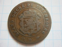 5 Centimes 1860 - Luxemburgo