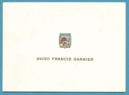 AVISO FRANCIS GARNIER - HANOÏ 1873 - Carte Réservée Aux Membres De L'équipage Pour Leur Correspondance - Krieg