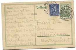 17 - 50 - Entier Postal Envoyée De Kempten 1922 - Deutschland