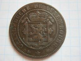 10 Centimes 1855 - Luxemburgo