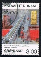 2013 - GROENLANDIA / GREENLAND - LA MINIERA / THE MINE - USATO / USED. - Groenlandia