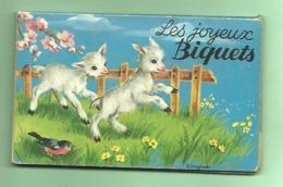 """Petit Livre Pop Up  """"les Joyeux Biquets"""" ILL.J.Lagarde (  Léger  Accident à La 3éme Page ) - Books, Magazines, Comics"""