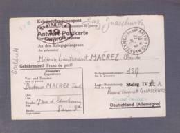 Correspondance De PG -Lieutenant Médecin - Obl. Paris 1941  ->Stalag IV A Et IV C - Censored/Zensur/Censure  Du Camp - Marcophilie (Lettres)