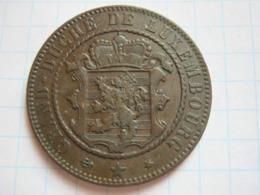 10 Centimes 1865 - Luxemburgo