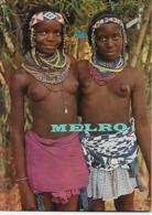 """Angola -  Distrito De Benguela -Grupo étnico """"Umbundo"""" - Mulheres """"Muanhas"""" - Angola"""