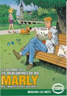 CPM - 29° Rencontres De BD - MARLY Moselle - 05-06 Octobre 2019 - Comics