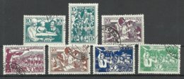 RUSSIA Russland 1938 Michel 618 - 624 O - Usati