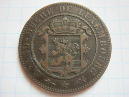 10 Centimes 1870 (with Dot) - Luxemburgo