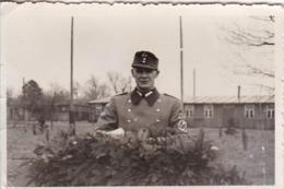 Foto Deutscher Soldat - Oberstfeldmeister Schröder - RAD - Ca. 1940 - 9*6cm (44066) - Krieg, Militär
