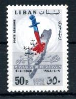 1965 LIBANO SET MNH ** - Libano