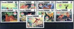 1980 GRENADA SET MNH ** Bambi - Grenada (1974-...)