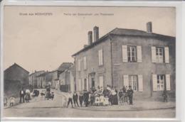 57 MANOM  GRUSS AUS MONHOFEN  Rue De LAGRANGE  Belle Animation !!!!! - Autres Communes
