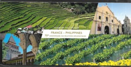 Bloc Souvenir N°135,  70 Ans Des Relations Diplomatiques France-Philippines, Sous Blister N++ - Souvenir Blocks
