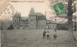 22 Sevignac Chateau De La Beschardiere Cachet Sevignac 1923 - Francia