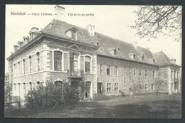 1.1 // CPA - MORIALME - Florennes - Vieux Château - Vue Prise Du Jardin  // - Florennes