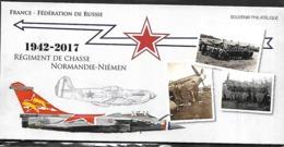 Bloc Souvenir N°139,  Régiment De Chasse Normandie-Niémen France-Russie, Sous Blister N++ - Souvenir Blocks
