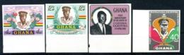 1968 GHANA SET MNH ** Imperf. - Ghana (1957-...)