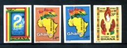1969 GHANA SET MNH ** Imperf. - Ghana (1957-...)