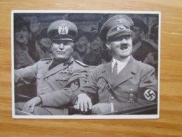 AK Hitler Mussolini 1941 SST Winterkampfspiele Der HJ Garmisch Patenkirchen (6636) - Guerra 1939-45