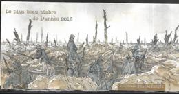 Bloc Souvenir N°141, Plus Beau Timbre 2016 Bataille De Verdun, Hors Blister N++ - Souvenir Blokken