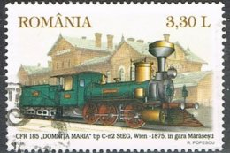2011 - ROMANIA - TRENI / TREINS. USATO / USED - 1948-.... Repubbliche