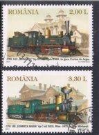 2011 - ROMANIA - TRENI / TREINS. USATO / USED - 1948-.... Républiques