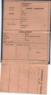 PROPAGANDE #104 WWII GUERRE 1939 1945 FAUX PAPIERS FAUSSE CARTE IDENTITE RESISTANCE - 1939-45