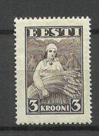 ESTONIA Estland 1935 Harvesting Michel 108 * - Agricultura