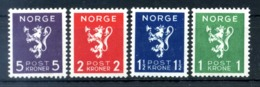 1940 NORVEGIA SET MNH ** - Norvegia