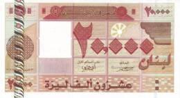 LEBANON P. 87 20000 L 2004 UNC - Libanon