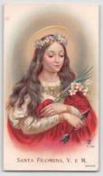 "08712 ""SANTA FILOMENA VERGINE E MARTIRE"" IMM. REL. ORIG. - Devotion Images"